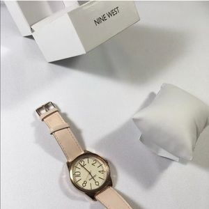Nine West Blush Pink Rose Gold Wrist Watch
